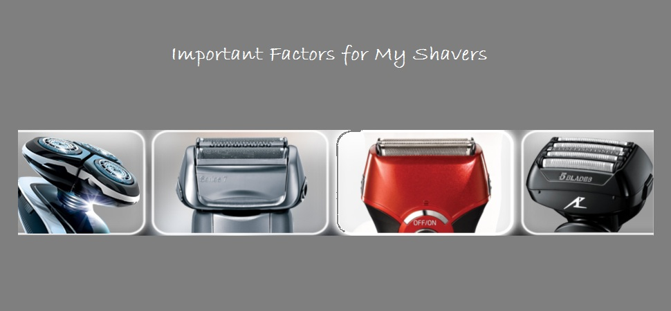 important-factors-for-electric-shavers