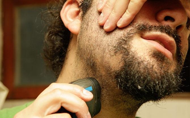 Image result for shaving electric shaver